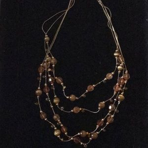 Vintage Statement Necklace Bronzes